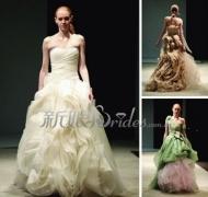挑选适合自己身材的婚纱礼服