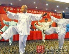 太极宗师杨少侯 推广推手动作应注重活步(2)