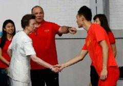 英国安妮公主访华逛故宫 英媒:看来很高兴再来中国