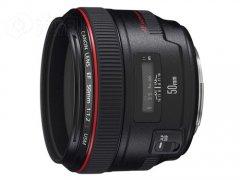 最强标准定焦头 佳能50mm/F1.2够高端